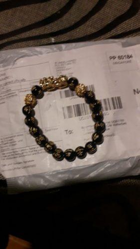 Feng Shui Black Obsidian Wealth Bracelet photo review
